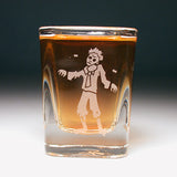 zombie shot glass