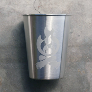 Campfire 12oz stainless steel cup
