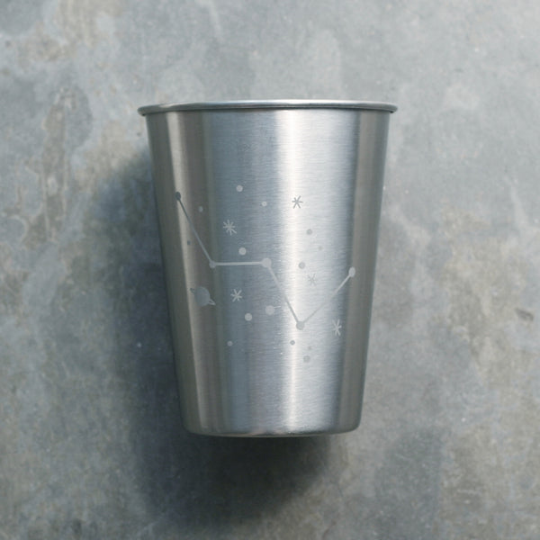 Cassiopeia constellation stainless tumblers