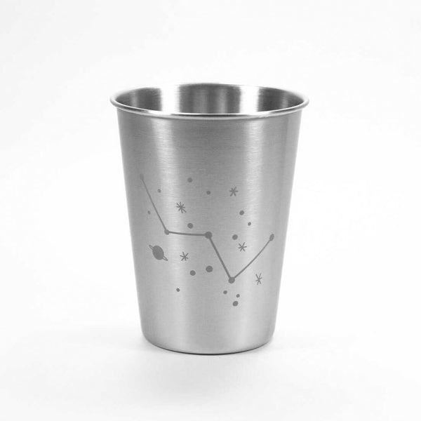 12oz Cassiopeia constellation stainless tumbler