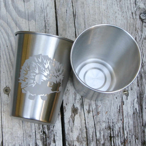 Hedgehog Stainless Steel Tumbler