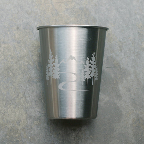 Mountain Trail 12oz stainless cup