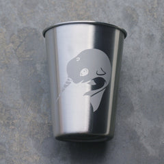 Narwhal 12oz Stainless Steel Cup (Retired)