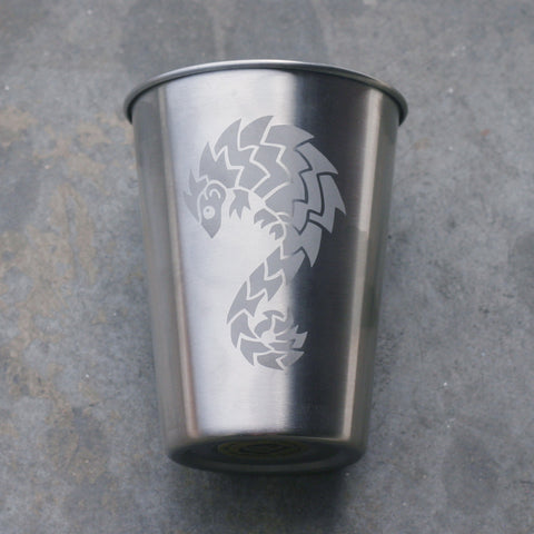 Pangolin stainless steel 12oz cup