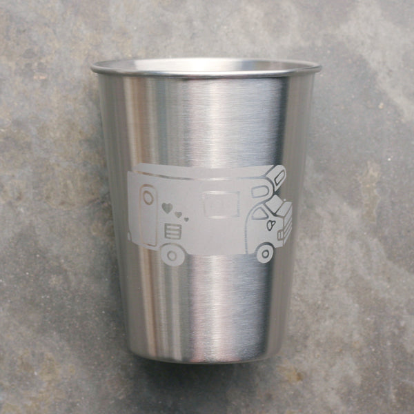 RV camper 12oz stainless cup