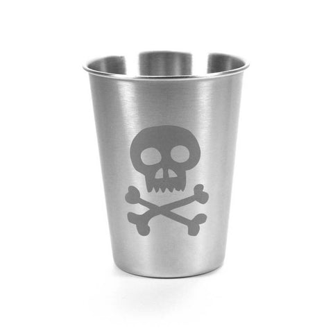 Skull and Bones Stainless Steel Cup (Retired)