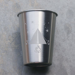 Tent Camping Stainless Steel Cup (Retired)