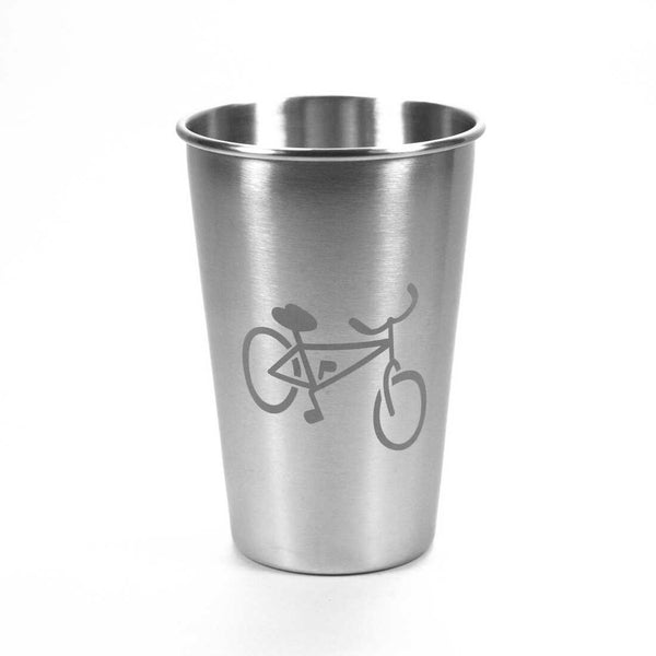 16 oz Bicycle stainless steel tumbler