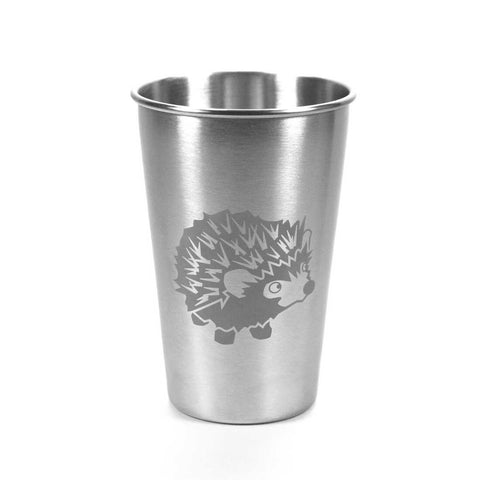 16oz Hedgehog stainless tumbler