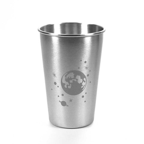 16oz moon and stars stainless tumbler