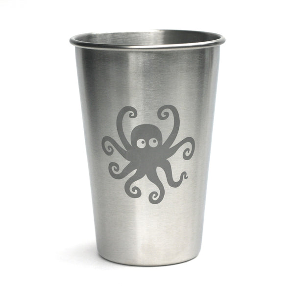 Octopus stainless steel 16oz cup