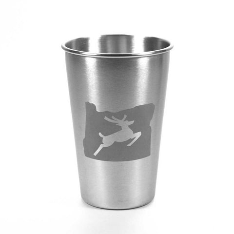 Oregon Stag Stainless Steel Tumbler