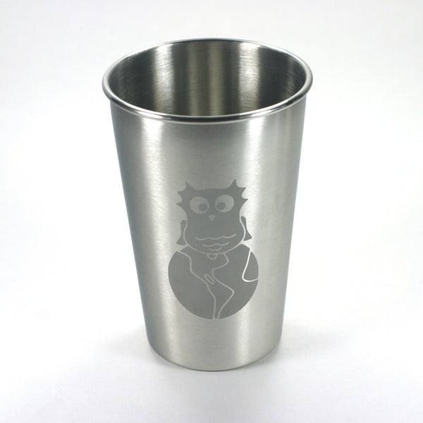 Custom logo stainless steel tumbler cup