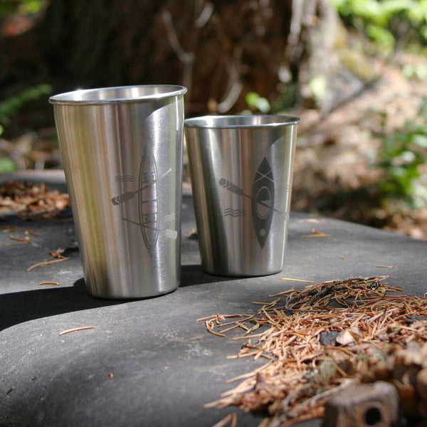 stainless boat tumblers by Bread and Badger