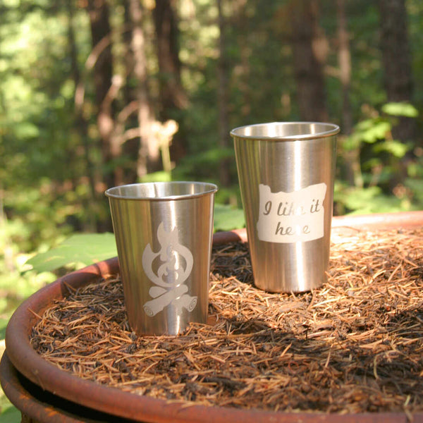 campfire stainless tumblers are great for camping and outdoors adventures!