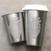 Anatomical Heart Stainless Steel Cup (Retired)