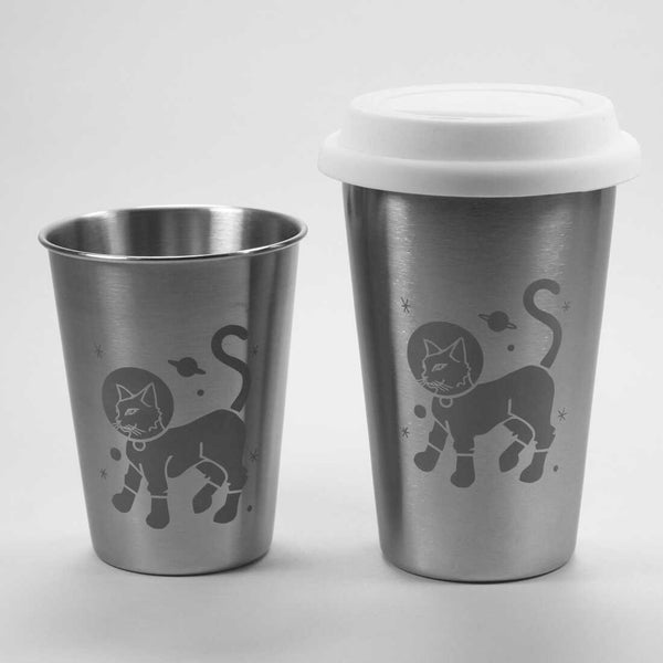 Astro Cat Stainless Steel Tumblers