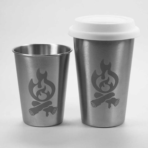 Campfire Stainless Steel Tumbler