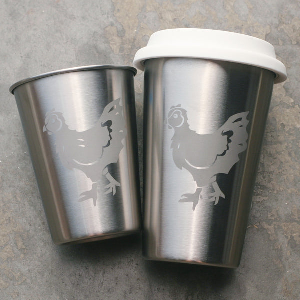 Chicken stainless steel hen cups