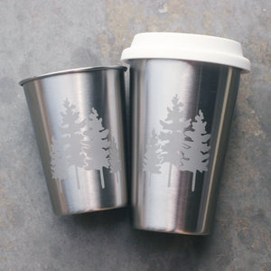 Family Trees stainless steel cups