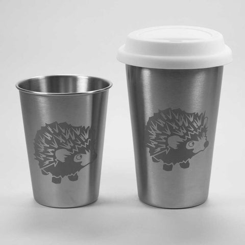 Hedgehog stainless steel tumblers