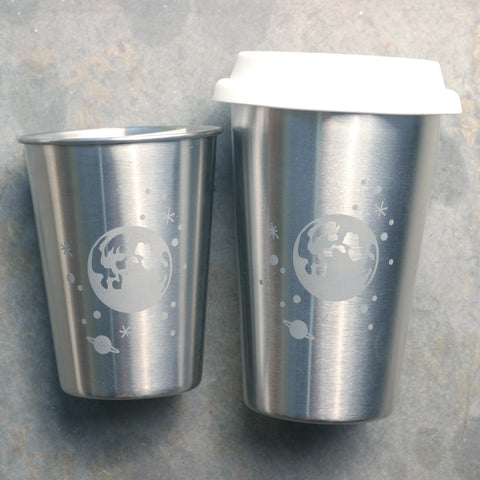 Moon and Stars Stainless Steel Cup