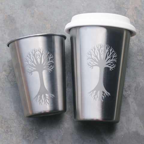 Tree Stainless Steel Cup