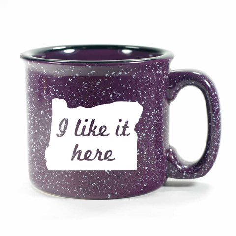 Purple Camp Oregon Mug by Bread and Badger