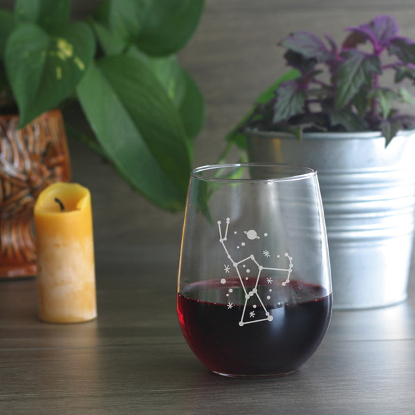 Orion stemless wine glass