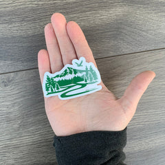 Portland Mt Hood mountain trail sticker