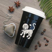 Astronaut Cat Travel Mug (Retired)