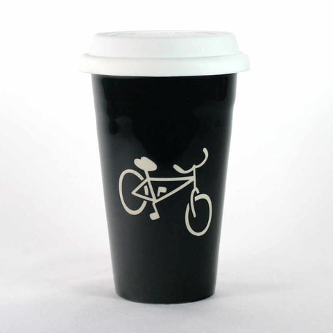 Bicycle Travel Mug (Retired)