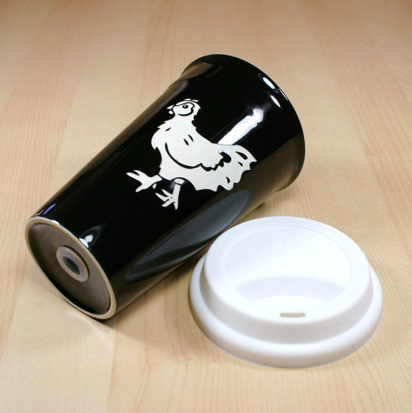 hen travel mug