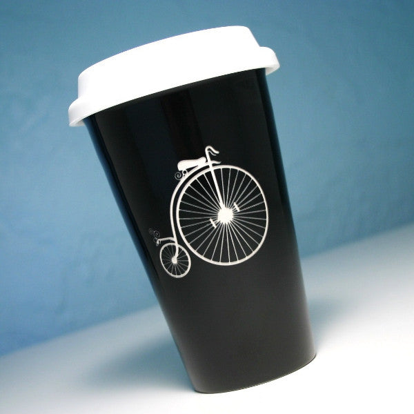 Penny Farthing Bike Travel Mug (Retired)