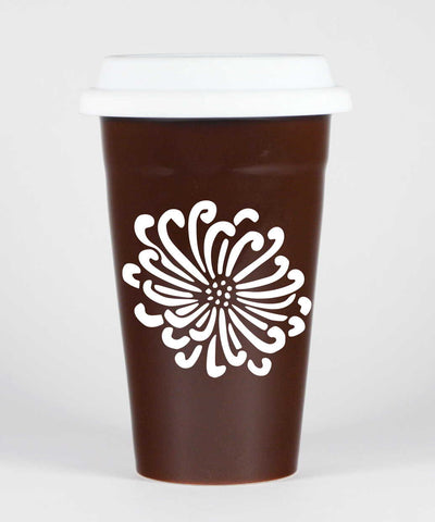Flower Travel Mug (Retired)