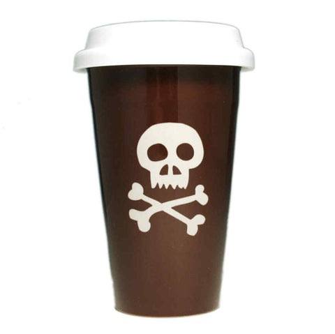 Skull and Bones Travel Mug (Retired)