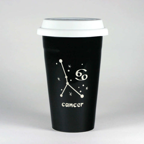Cancer Zodiac Constellation Travel Mug