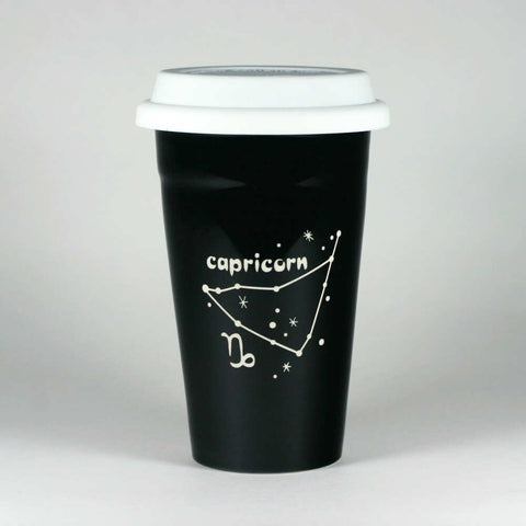 Capricorn Zodiac Constellation Travel Mug