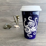 Octopus Cat Travel Mug