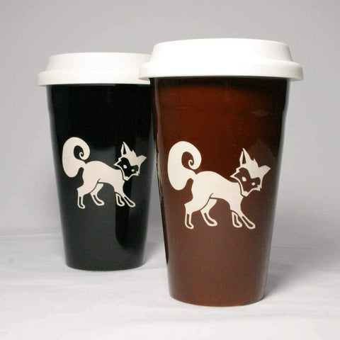 Fox Travel Mugs