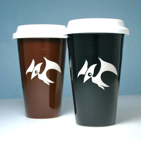 pterodactyl travel mugs