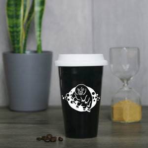 Tardigrade Water Bear Travel Mug by Bread and Badger