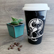 Witch Cat Travel Mug (Retired)