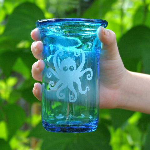 Custom Recycled Glass Tumbler