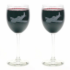 Airplane Wine Glass (Retired)