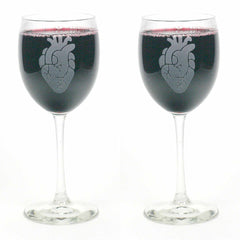 Anatomical Heart Wine Glass (Retired)