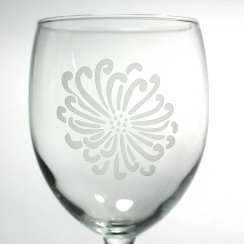 Flower Wine Glass (Retired)