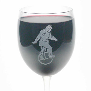 sasquatch bigfoot wine glass
