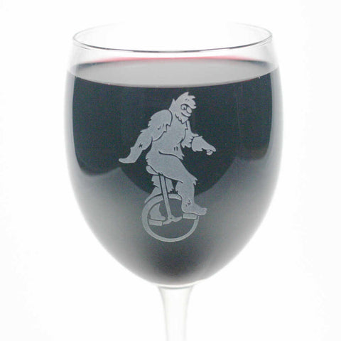 Sasquatch Wine Glass