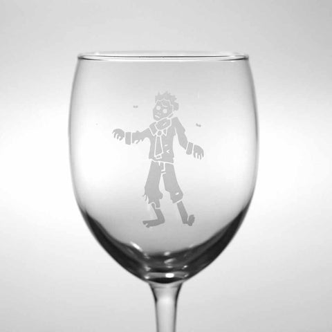 Zombie Wine Glass